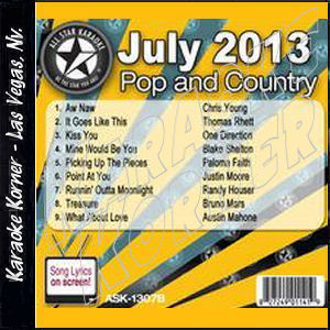 Karaoke Korner - July 2013 Pop and Country Hits B