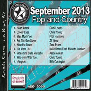 Karaoke Korner - September 2013 Pop and Country Hits B