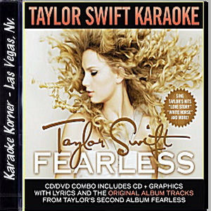 Karaoke Korner - Taylor Swift - Fearless