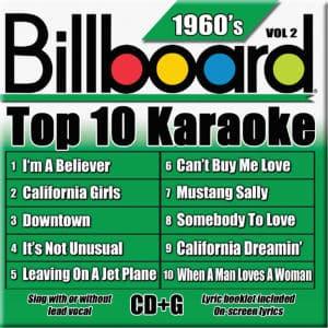 Karaoke Korner - TOP 10 KARAOKE - 60s vol 2