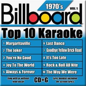 Karaoke Korner - TOP 10 KARAOKE - 70s vol 1