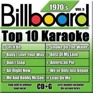 Karaoke Korner - TOP 10 KARAOKE - 70s vol 3