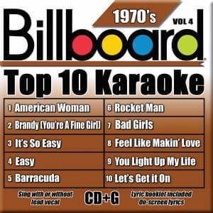 Karaoke Korner - TOP 10 KARAOKE - 70s vol 4