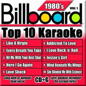 Karaoke Korner - TOP 10 KARAOKE - 80s vol 1