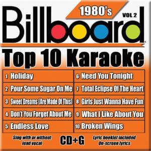Karaoke Korner - TOP 10 KARAOKE - 80s vol 2