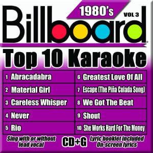 Karaoke Korner - TOP 10 KARAOKE - 80s vol 3