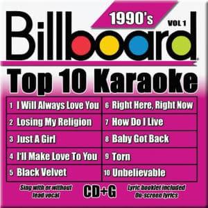 Karaoke Korner - TOP 10 KARAOKE - 90s vol 1