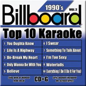 Karaoke Korner - TOP 10 KARAOKE - 90s vol 2