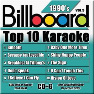 Karaoke Korner - TOP 10 KARAOKE - 90s vol 3