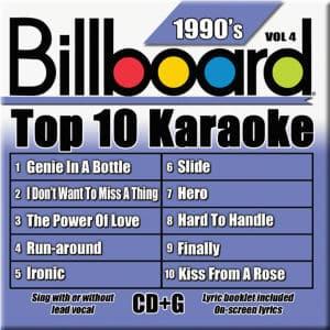 Karaoke Korner - TOP 10 KARAOKE - 90s vol 4