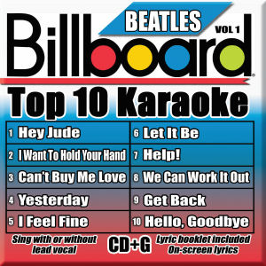 Karaoke Korner - TOP 10 KARAOKE - BEATLES Vol 1