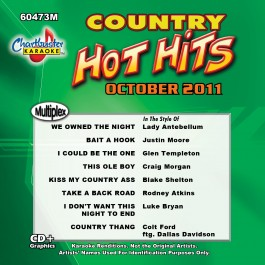 Karaoke Korner - Hot Hits Country Oct 2011 Vol 1
