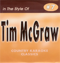 Karaoke Korner - Tim McGraw