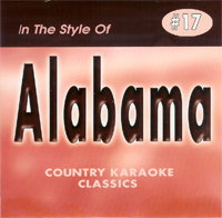 Karaoke Korner - Alabama - Vol. 2