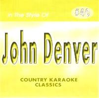 Karaoke Korner - John Denver