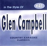 Karaoke Korner - Glen   Campbell