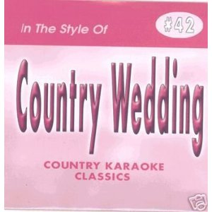 Karaoke Korner - COUNTRY WEDDING