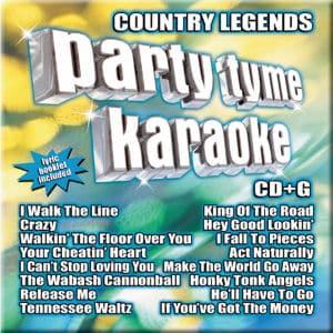 Karaoke Korner - PARTY TYME KARAOKE - COUNTRY LEGENDS 1