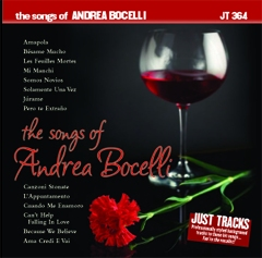 Karaoke Korner - Songs Of Andrea Bocelli