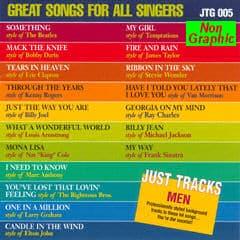 Karaoke Korner - GREAT SONGS - GREAT SINGERS (MEN)