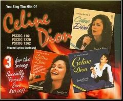 Karaoke Korner - Celine Dion Hits