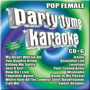 Karaoke Korner - PARTY TYME KARAOKE - POP FEMALE