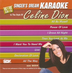 Karaoke Korner - Celine Dion