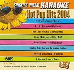 Karaoke Korner - Hot Pop Hits 2004