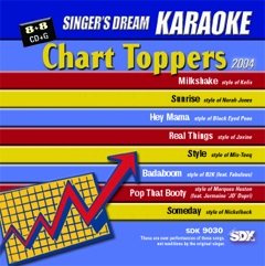 Karaoke Korner - Chart Toppers 2004
