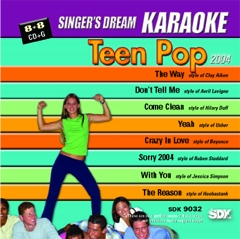 Karaoke Korner - Teen Pop 2004