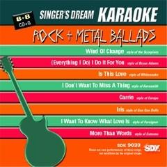 Karaoke Korner - Rock + Metal Ballads