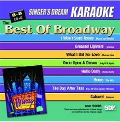 Karaoke Korner - Best Of Broadway