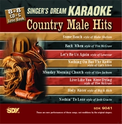 Karaoke Korner - Country Male Hits