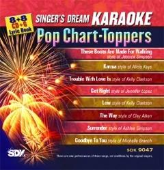 Karaoke Korner - Pop Chart-Toppers