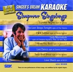 Karaoke Korner - Sleepover Singalongs