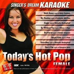 Karaoke Korner - Today's Hot Pop - Female