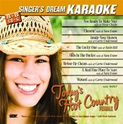 Karaoke Korner - Today's Hot Country-Female