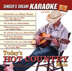 Karaoke Korner - Today's Hot Country-Male