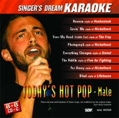 Karaoke Korner - Today's Hot Pop-Male