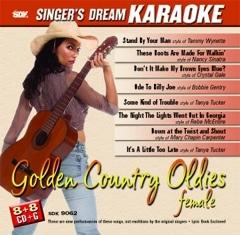 Karaoke Korner - Golden Country Oldies Female