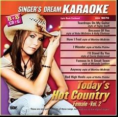 Karaoke Korner - Today's Hot Country Female Vol II