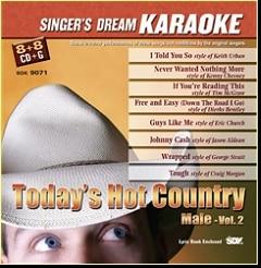 Karaoke Korner - Today's Hot Country Male Vol II
