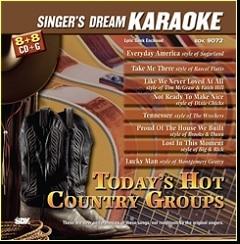 Karaoke Korner - Today's Hot Country Groups