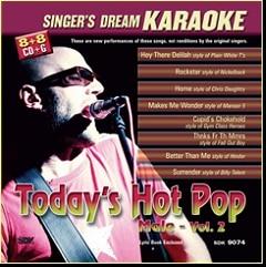 Karaoke Korner - Today's Hot Rock and Pop Male Vol II