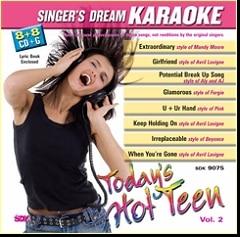 Karaoke Korner - Today's Hot Teen Vol II