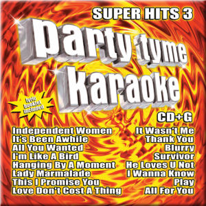 Karaoke Korner - PARTY TYME KARAOKE - SUPER HITS 3