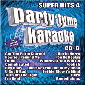 Karaoke Korner - PARTY TYME KARAOKE - SUPER HITS 4