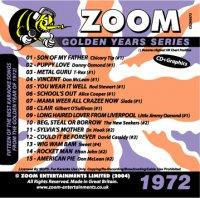 Karaoke Korner - Zoom Golden Years 1972