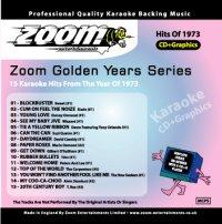 Karaoke Korner - Zoom Golden Years 1973