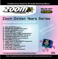 Karaoke Korner - Zoom Golden Years 1977